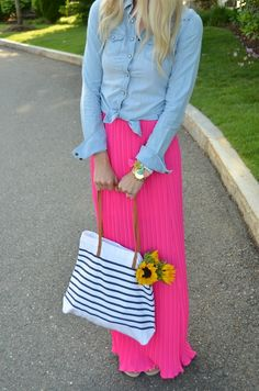 Maxi Skirt styling tips!