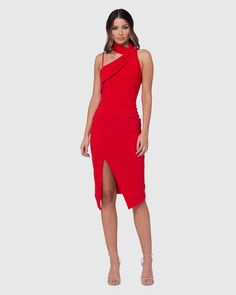 Product Details - Length: (size AU Featuring high collar neckline with 3 concealed press stud closure to the. Midi Length Skirts, Midi Skirt, Pilgrim Clothing, Formal Wear, Formal Dresses, Australian Fashion Designers, Dresses Online Australia, Buy Dresses Online, High Collar