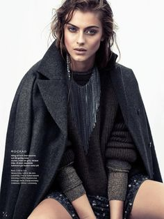 Elle Sweden September 2014 | #LonePraesto by Honer Akrawi #FashionEditorials #IsabelMarant
