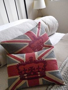 union jack pillows