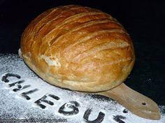 GRUNT TO PRZEPIS!: Prosty chleb ktory zawsze wychodzi Polish Recipes, Polish Food, Bread Rolls, Bread Recipes, Food And Drink, Yummy Food, Baking, My Favorite Things, Cakes