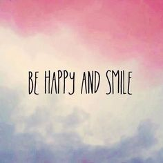 Be happy💫