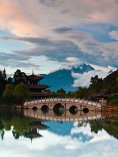 中国 云南 丽江 玉龙雪山