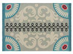 Tapete retangular de lã com motivos Coleção Goyescas by GAN By Gandia Blasco | design Sandra Figuerola
