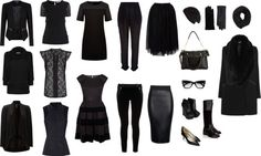 Winter Capsule: Grown Up Goth