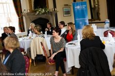 """Delegates enjoying the recent """"Women in Business"""" networking lunch."""