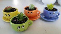 Teeny little tea cups