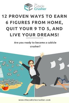 Do you feel you are meant for something bigger than working your 9 to Want to become an online entrepreneur and earn a six figure income from home? Get started today and crush your cubicle life! Start A Business From Home, Work From Home Moms, Starting A Business, Online Business, Online Entrepreneur, Business Entrepreneur, Feeling Stuck, How To Stay Motivated, Way To Make Money