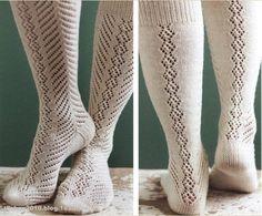 Socken, Muster - genauer anschauen!!! (toe-up Lochmustersochen, als JPG ausdrucken)