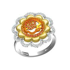 Jpearls Charisma Diamond Finger Ring