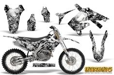 Honda CRF250R 2004-2012 Motocross Graphic Kits with the largest selection of designs and colors.