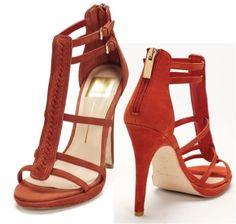 beautiful orange sandals! Dolce Vita Camila shoes