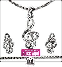 39ee85462876 21 mejores imágenes de Joyas de plata con clave de sol