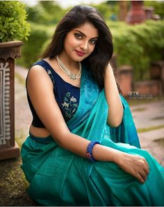 Exclusive image gallery of beautiful Indian women/models in saree. Beautiful Girl Indian, Most Beautiful Indian Actress, Beautiful Girl Image, Beautiful Saree, Beautiful Women, Beauty Full Girl, Beauty Women, Saree Photoshoot, Indian Actress Hot Pics