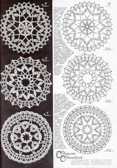 Best 12 PP said: Note to self- crochet these with huge hook, would look great really big. I say: Why the hell not – Page 736971926492505539 – SkillOfKing. Crochet Doily Diagram, Crochet Motif Patterns, Filet Crochet, Irish Crochet, Crochet Doilies, Crochet Flowers, Crochet Stars, Crochet Circles, Crochet Snowflakes