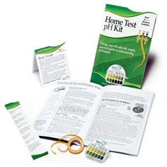 Easy self-test Home Test pH Kit.  See for yourself if your diet is supporting your body's acid to alkaline levels.