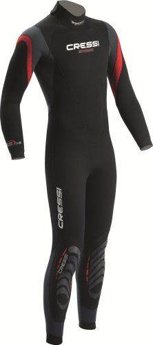 Cressi Spring Men's Wetsuit (3.5-mm, Medium)