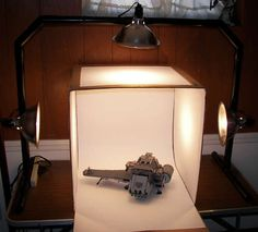 light box for indoor photography.  i need to get on this one..