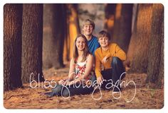 family, teenagers, pine trees, golden hour www.blissphotographymn.com by bliss.photography, via Flickr