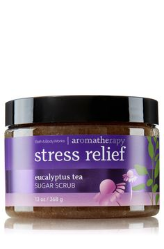Stress Relief - Eucalyptus Tea Sugar Scrub - Aromatherapy - Bath & Body Works