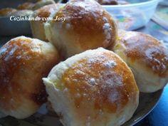 Pão de Batata Recheado com catupiry