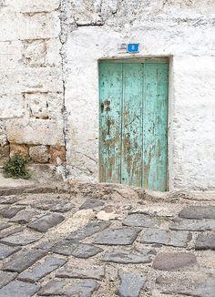 8 x 12 Rustic Door No 8 Rural Turkey Fine Art by glennisphotos. $27.00 USD, via Etsy.