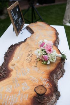 Rustic Signing Board or Guest Book