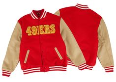 Wool Jacket San Francisco 49ers | Mitchell & Ness