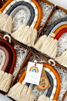 Rainbow Wall Hanging, Rainbow Wall Art, Nursery Wall Decor, Boho Ornaments, Bohe… – Try Nursery Wall Decor, Nursery Art, Room Decor, Nursery Ideas, Art Decor, Decoration, Decor Ideas, Rainbow Wall, Art Textile