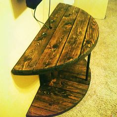 Wooden Spool Tv stand @dudechgurnameit'simpossibleto@uffs