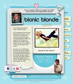New Bionic Blonde Website
