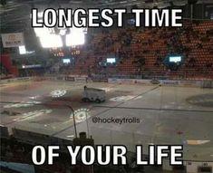 This isn't exactly true. Off season is definitely longer. Or the dreaded strike ; Hockey Memes, Hockey Quotes, Funny Hockey, Best Sports Quotes, Sport Quotes, Hockey Baby, Hockey Girls, Hockey Pictures, Rangers Hockey