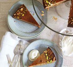 Australian Gourmet Traveller recipe for Persian love cake by Qom chef Gerard Yaxley.