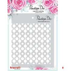 """Templates Masks and Stencils : Penelope Dee Stencil - """"Circles"""""""