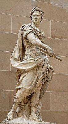 03- Júlio César, estátua por Nicolas Coustou,Palácio das Tulherias (1696).