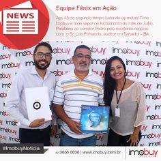 Parabéns time Imobuy! Obrigado pela confiança Sr. Luis Fernando. Temos certeza que fez um excelente negócio. Parabéns à Gerente Kelen (@kelen_neves) e ao Corretor Pedro pela ótima venda! A Imobuy não para! #ImobuyNotícia