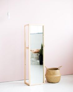 Over on the blog I'm sharing this standing mirror DIY so you can all look at your lovely selves more often! Click through to the blog to see more
