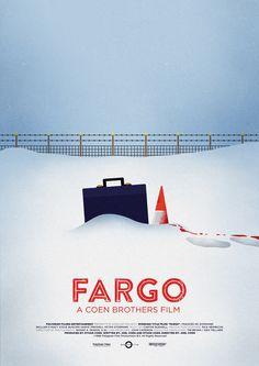 Alternative movie poster for Fargo by Sol Fortuny. #Poster #Fargo