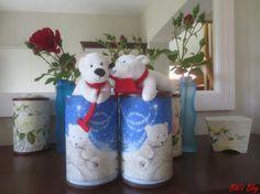 Polarbär Finn + Polarbärin Emma #CokePolarbär