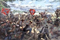 Emittsburg Road Gettysburg - Don Troiani