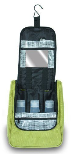 The Glo Bag Hanging Cosmetic Lime Green By 25 00 Comes With A Mirror That Velcros On Top Pocket Fits Perfectly In