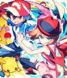 Serena Pikachu and ash