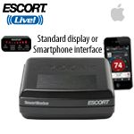 ESCORT SmartRadar (iPhone) is an innovative way to bring full radar and laser protection into the vehicle without a visible detector on your windshield. Simply mount it behind your rearview mirror and connect it to your smartphone using their ESCORT Live! app. $499 https://www.escortradar.com/store/product.php?productid=16299=249#