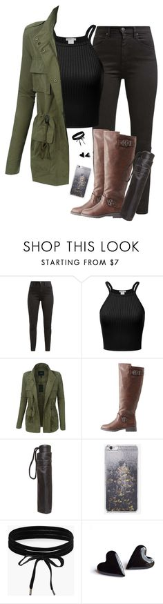 """☔️Rainy days☔️"" by lollypopz951 ❤ liked on Polyvore featuring Levi's, LE3NO, Charlotte Russe, Dorothy Perkins, Skinnydip and Boohoo"