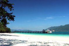 Koh Lao Ya of the south coast of Koh Chang