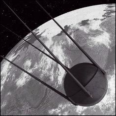 """""""Sputnik"""" Rendered with DAZ3D."""