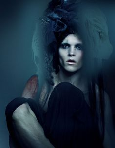 Wiktor Hansson Plays it Dark for Fault Magazine #fashion #editorial #dark