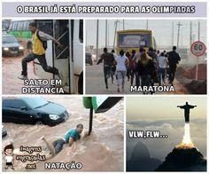 IMAGEM DA SEMANA : Brasileiros treinando para as Olimpíadas