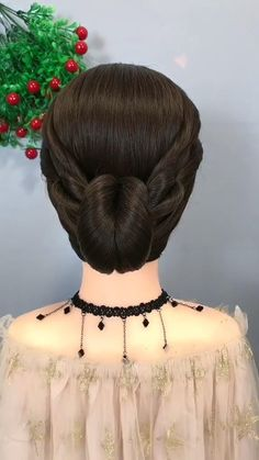 Bun Hairstyles For Long Hair, Braided Hairstyles Tutorials, Braids For Long Hair, Bride Hairstyles, Cute Hairstyles, Hairstyle Braid, Kids Hairstyle, Heatless Hairstyles, Beautiful Hairstyles