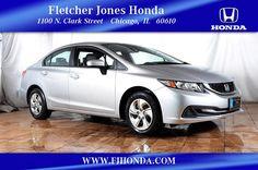 Certified 2014 Honda Civic LX Sedan For Sale in Chicago, IL
